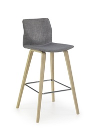 Halmar H-80 Bar Stool Grey