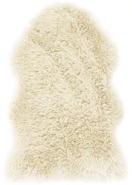 AmeliaHome Dokka Rug Sheepskin 75x150 Beige