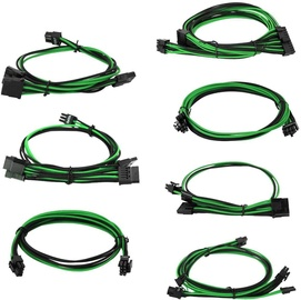 EVGA Power Supply Cable Set Green/Black 100-G2-08KG-B9