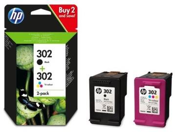 HP 302 Cartridge Black 190p / Colour 165p