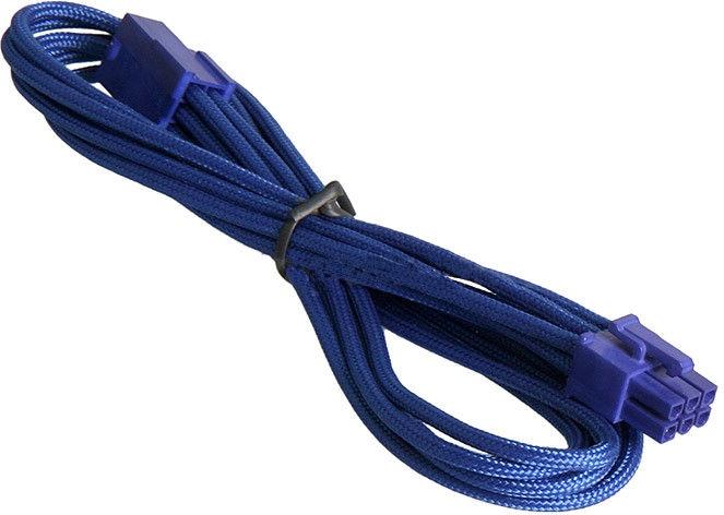 BitFenix 6-Pin PCIe Extension Cable 45cm Blue
