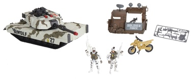 Chap Mei Soldier Force Tundra Patrol Tank Playset 545062