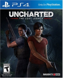 Игра для PlayStation 4 (PS4) Uncharted: The Lost Legacy PS4