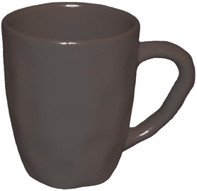Bradley Ceramic Cup Organic 11cm Brown