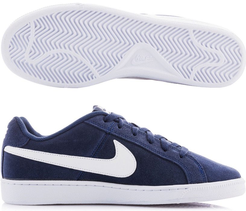 Nike Court Royale Suede 819802 410 Blue 42 1/2