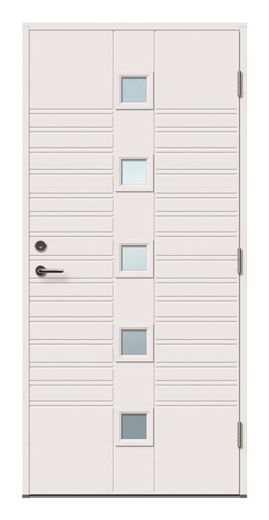 Lauko durys Viljandi Kaia 5x1R, 2088 x 890 mm, dešininės
