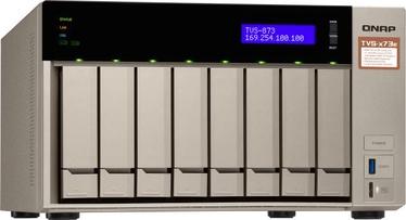 QNAP Systems TVS-873e-4G NAS 8-Bay 80TB