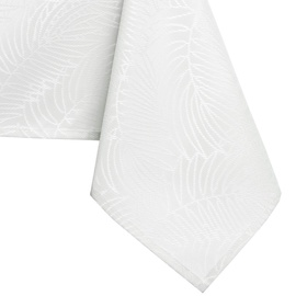Скатерть AmeliaHome Gaia HMD White, 155x450 см