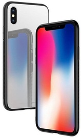 Hoco Premium Vitreous Shadow Back Case For Apple iPhone X Silver/Grey