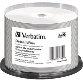 Verbatim DVD-R DL 4.7GB 16x Waterproof 50pcs
