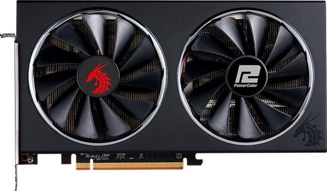 PowerColor Radeon RX 5600 XT Red Dragon 6GB GDDR6 PCIE AXRX5600XT6GBD6-3DHR/OC
