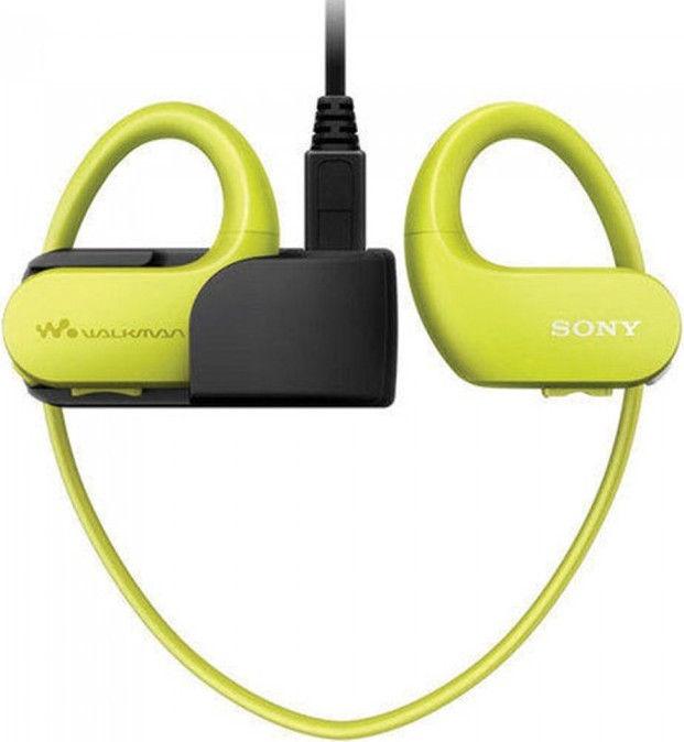 Музыкальный проигрыватель Sony Walkman NW-WS413, зеленый, 4 ГБ