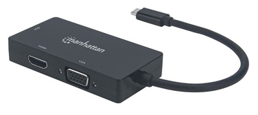 Manhattan USB-C to HDMI / DVI /VGA