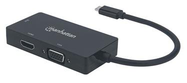 Manhattan USB-C to HDMI / DVI /VGA
