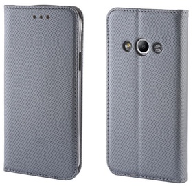 Forever Smart Fix Book Case For Huawei Y560 Y5 Grey