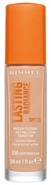 Makiažo pagrindas Rimmel London Lasting Radiance SPF25 10, 30 ml