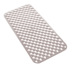 Neslystantis dušo kilimėlis Gedy Geo 973671/02, pilkas, 36 x 71 cm