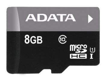 A-Data 8GB Micro SDHC Premier UHS-I Class 10 + Micro reader V3