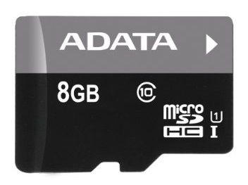 Adata 8GB Micro SDHC Premier UHS-I Class 10 + Micro reader V3