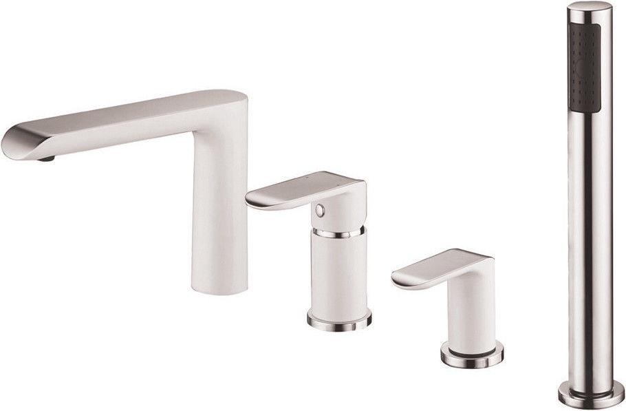 Shower Faucet.Vento Ravena Shower Faucet White Chrome