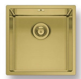 Pyramis Astris Sink 40x40cm Gold