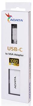 Adata USB-C To VGA Adapter White