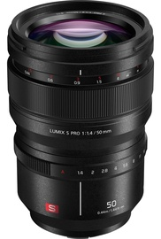 Panasonic Lumix S Pro 50mm F1.4 Lens Black