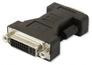 Techly Adapter DVI to VGA Black