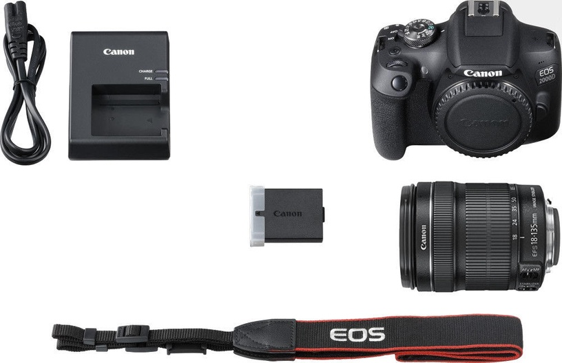 Canon EOS 2000D EF-S 18-135mm IS Kit