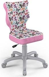 Bērnu krēsls Entelo Petit Size 4 ST31 Grey/Pink, 370x350x830 mm