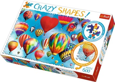 Dėlionė Trefl Crazy Shapes Air Balloons 11112T, 600 dalių