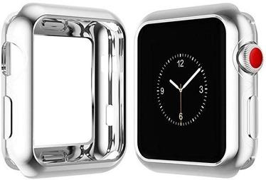 Futrālis Dux Ducis Premium Silicone Case For Apple Watch 4 40mm Silver