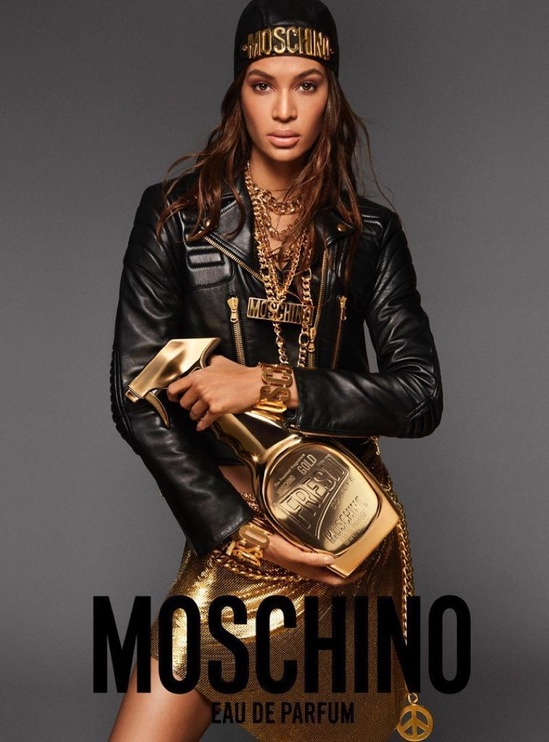 Набор для женщин Moschino Fresh Gold Couture 30 ml EDP + 50 ml Body Lotion