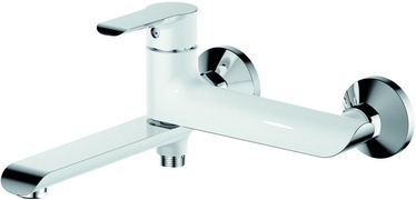 Vento Bari BR7205WHC KItchen Sink Faucet White/Chrome