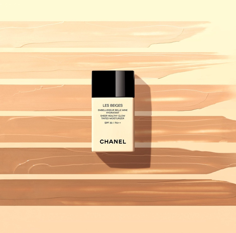 Chanel Les Beiges Sheer Healthy Glow Tinted Moisturizer SPF30 30ml Deep