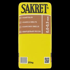 Sakret 0,0-0,5 mm, 25 kg