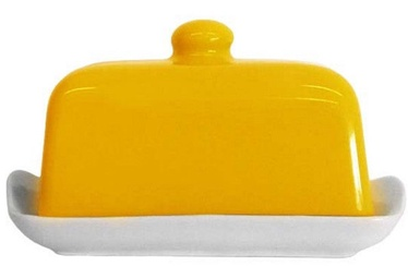Cesiro Butter Dish 17x12cm Yellow