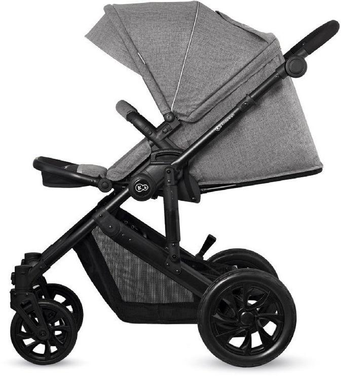 Universalus vežimėlis KinderKraft Prime Lite 3in1 Gray