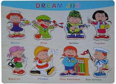 Pareto Centrs Wooden Puzzle Dream Job
