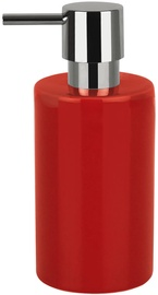 Spirella Tube Soap Dispenser Red
