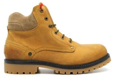 Wrangler Yuma Fur Leather Winter Boots Camel Brown 45