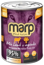Marp Lamb With Vegetables Holistic 400g