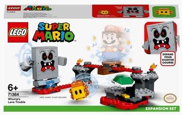 Конструктор LEGO® Super Mario Неприятности в крепости Вомпа. Дополнительный набор 71364, 133 шт.