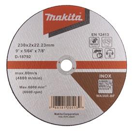 Lõikeketas Makita D-18792, 230 x 2 x 22,23 mm