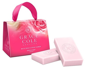 Grace Cole Soap 2 x 75g White Rose & Lotus Flower