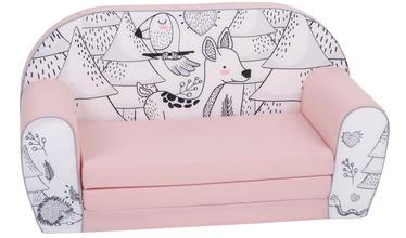 Детский стул Delta Trade DT2, черный/розовый, 420 мм x 350 мм