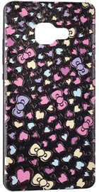 Mocco 3D Hearts Back Case For Samsung Galaxy A3 A320 Black