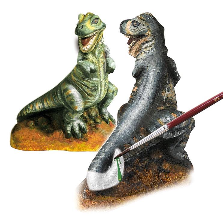 Gipsinių figūrų gaminimo rinkinys SES Creative Children's T-Rex Casting & Painting Set 01283