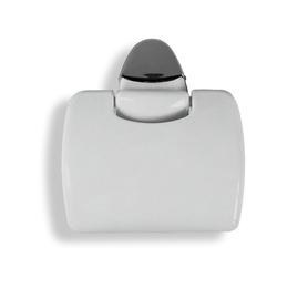Karo Plast Toilet Paper Holder Claudia 12808 Grey
