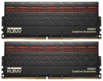 KLEVV Cras II 32GB DDR4 2666MHz CL15 Kit Of 2 KM4Z16X2N Red